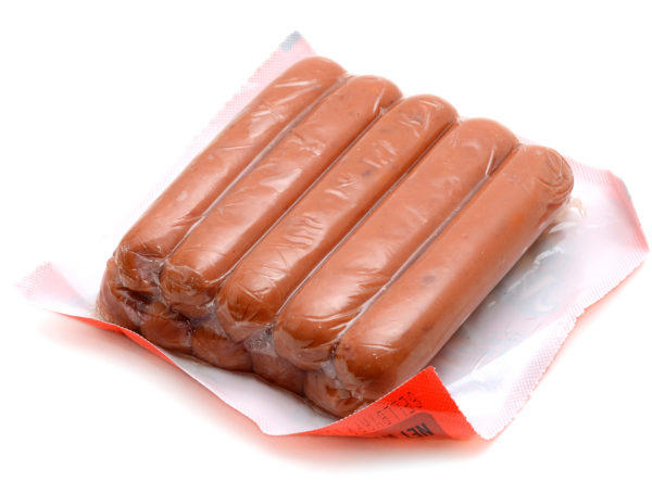 8 Pack of Hot Dogs.